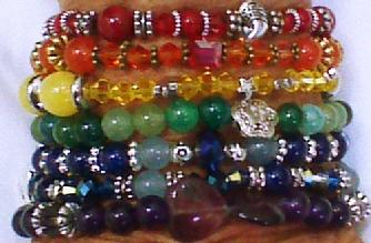 Swarovrski Crystals, Souldrama Bracelets, Bracelts representing faith,truth,clarit,compassion,love,humility,gratitude,transformation